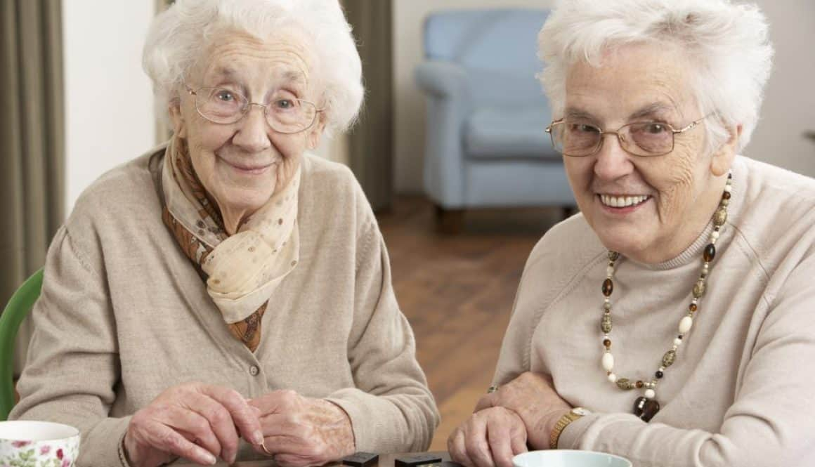 Curious grandmothers from the Cross Street